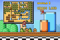 Super Mario Advance 4 - Super Mario Bros. 3 - Ending  - world 1 - User Screenshot